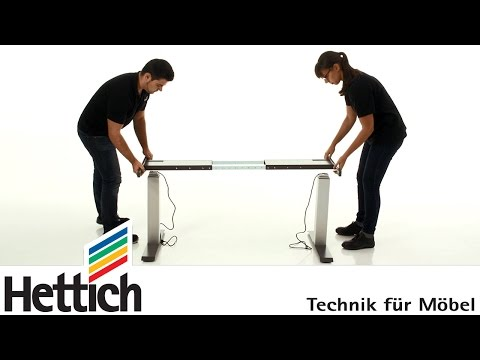 hettich-legadrive-systems:-montage-eines-elektromotorisch-verstellbaren-tisches