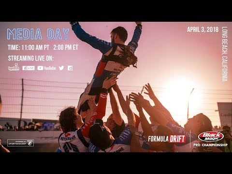 Formula Drift Long Beach - Media Day LIVE!