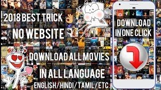 HOW TO DOWNLOAD ALL MOVIES ON REALISED DATE WITH DIFFERENT LANGUAGES ON ANY ANDROID DEVICE (2018)