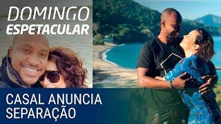 Chega ao fim o casamento de Thiaguinho e Fernanda Souza