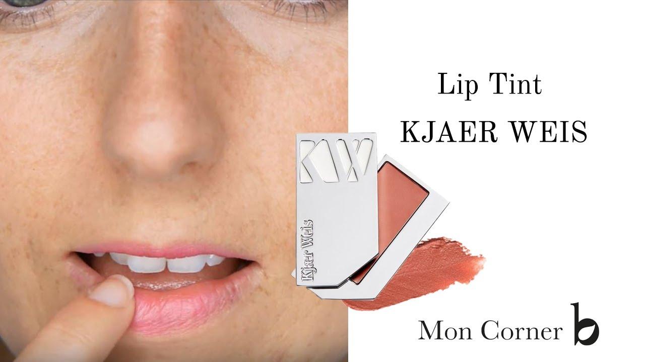 Lip Tint Kjaer Weis Des Levres Teintees Et Delicates Youtube