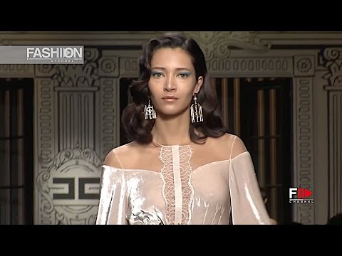 ELISABETTA FRANCHI Milan Fashion Week Fall Winter 2017 2018 - Fashion Channel