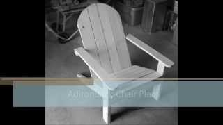 Adirondack Chair Step-By-Step Plans