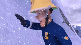 Fireman Sam US 🚒Lost in the Snow | Fire Rescue | Best Rescue Compilation 🔥Kids Movie