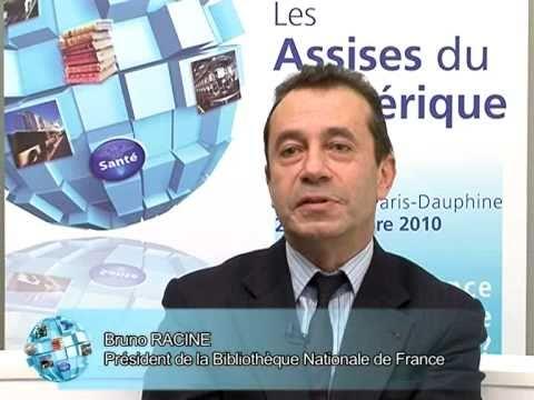 Assises du Numérique - Bruno Racine, Président de la BnF - Bibliothèque nationale de France
