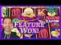 🐲🔥5 Dragons RAPID Features are AWESOME!! ✦ Brian Christopher Slots
