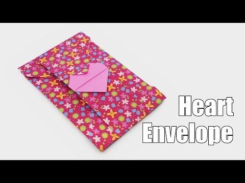 Origami Heart Envelope-Jo Nakashima