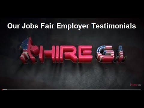 Hire GI | Jobs Fairs for Veterans featured Employer Testimonials