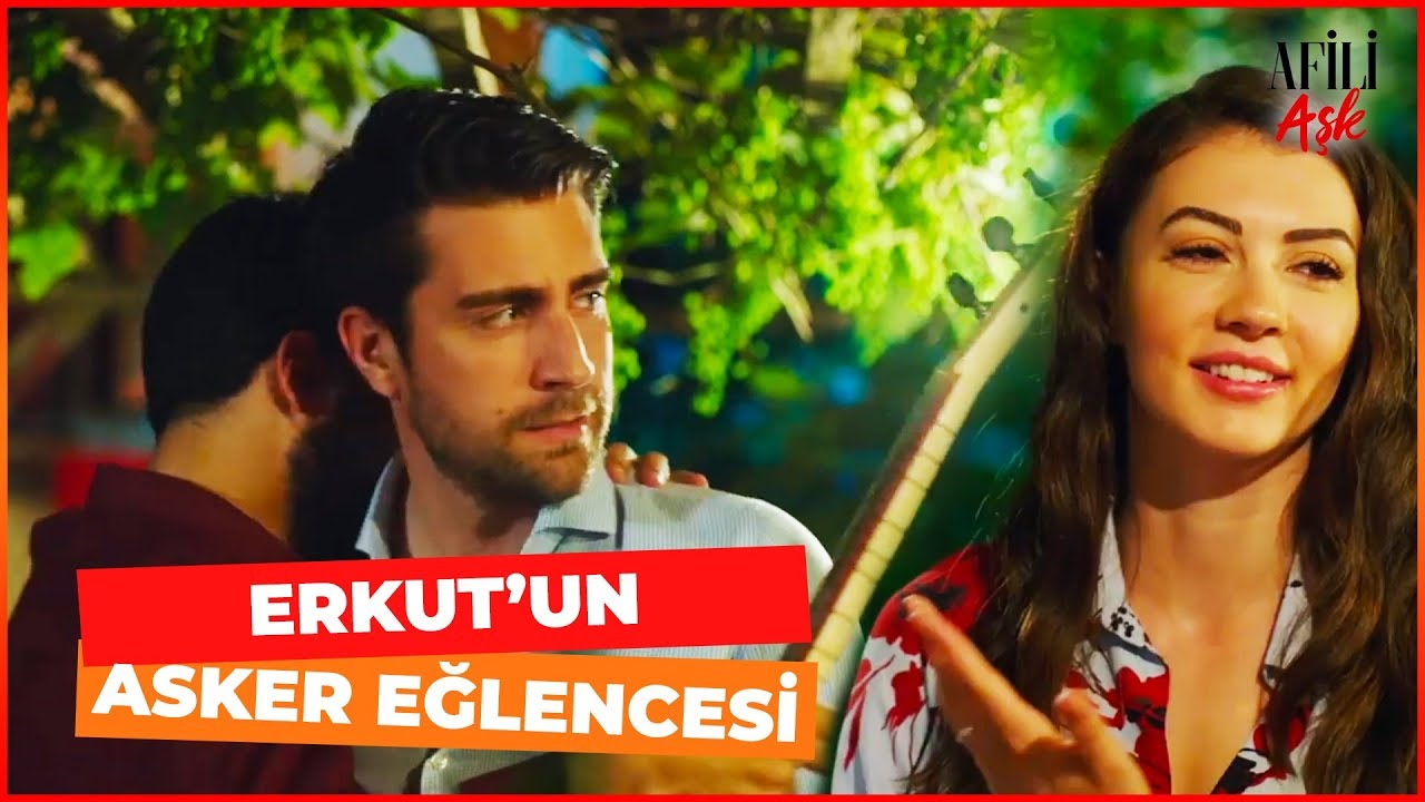 Ayşe ve Kerem, Erkut'un Asker Eğlencesinde - Afili Aşk 5. Bölüm