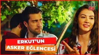 Ayşe ve Kerem, Erkut'un Asker Eğlencesinde - A