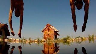 Офигенный Плавательный пруд. Харьков, 2013й год. 5 сезонов эксплуатации.