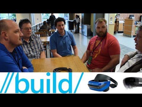 Microsoft Build 2017 | Mixed Reality Developer Discussion | HoloLens, Acer, HP Headsets and More