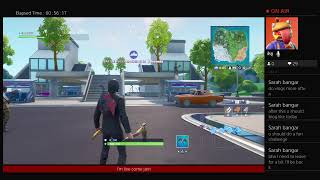 Fortnite battle royal season 9 trying to get people a win close encounters