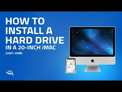 20-Inch iMac (2007-2008) Hard Drive Installation Video