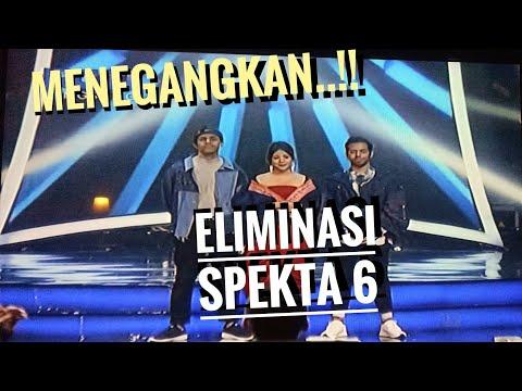 """Detik-detik Menegangkan """"ELIMINASI spekta 6 indonesian idol 2018"""