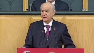 """MHP Lideri Bahçeli: """"Yüzbinlerce Bozkurt Afrin İçin Hazırdır"""""""