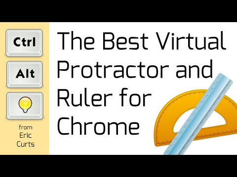 The Best Virtual Ruler and Protractor for Chrome - YouTube