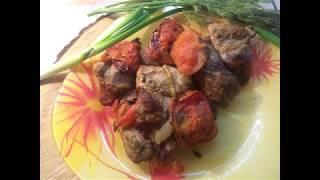 Вкусная свинина в духовке, простой рецепт шашлыка!