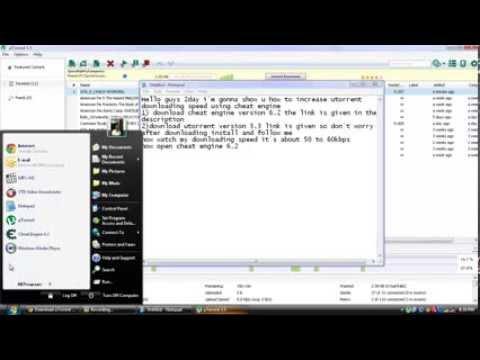 UTorrent and Cheat Engine