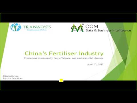 China fertiliser webinar - Overcoming overcapacity, inefficiency, and environmental damage