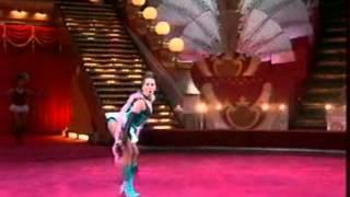 """видео: Яна Шаникова и Жанна Фриске в ТВ - проекте """"Цирк со звездами 2007"""""""