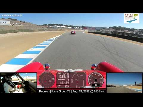 Reunion - Race Group 7B - Car 136 | Aug. 19, 2012 @ 1535hrs (Multi Cam View)