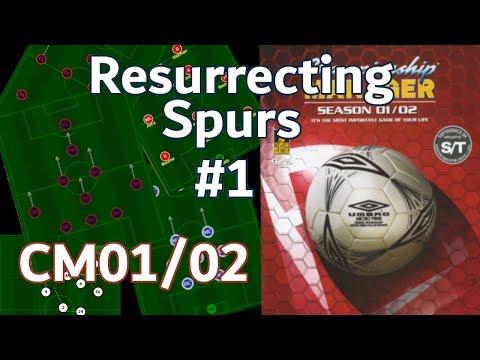 CM0102 - NOSTALGIA GAMING - Resurrecting Spurs - CM0102 Lets Play - Championship Manager Vanilla
