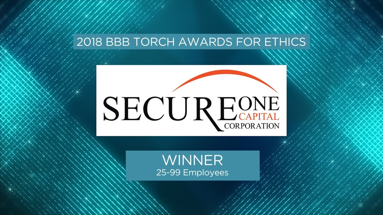 97d81634235 Torch Awards for Ethics Winner  Secure One Capital - YouTube