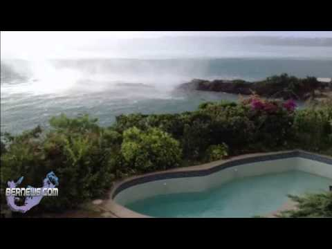 Tornado Approaches Land In Somerset, Bermuda, Oct 28 2012