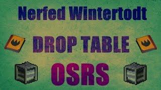 Nerfed Wintertodt : Low Skill Level VS Medium Skiller Rewards Old school Runescape 2007 (OSRS)