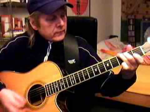 Boulevard of broken dreams Green Day Guitar Lesson by Siggi Mertens
