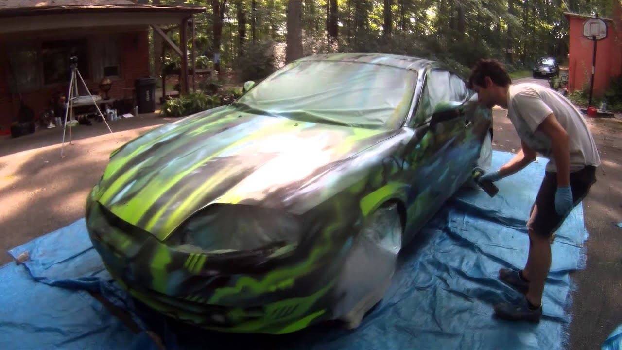 Montana Painted Car