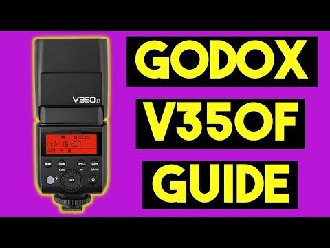 Godox V350F Speedlight Flash for Fuji How to Guide