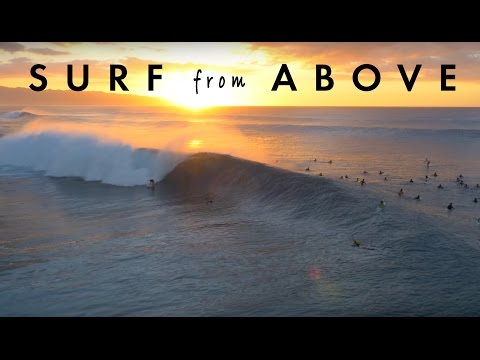 Surf From Above | Oahu's North Shore in 4K