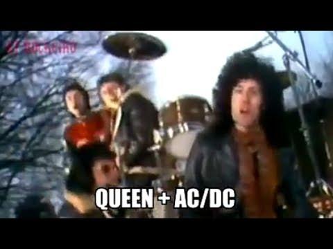 Queen + AC/DC = We Will Rock You