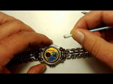 tag heuer sel battery replacement youtube