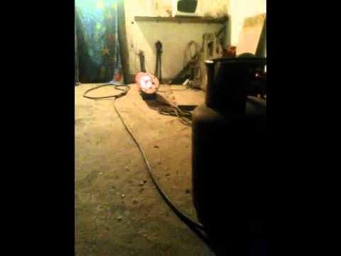 Работа газовой пушки в гараже когда замерзает газ в балоне