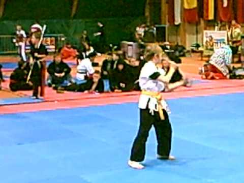 Luka Gregorn, Austrian Classics 2009, hard style with weapons under 12 years, 4.th place
