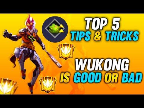 TOP 5 WUKONG TIPS AND TRICKS - #JONTYGAMING - GARENA FREEFIRE BATTLEGROUND