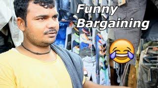 Funny Bargaining in India | Faishon street in mumbai