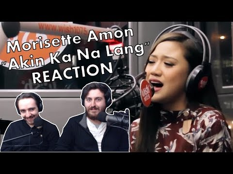 """""""Morissette Amon - Akin Ka Na Lang"""" Singers Reaction"""