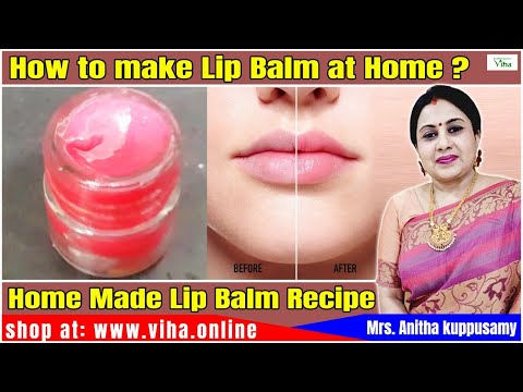 Beauty Tips / Home Made Lip Balm / Anitha kuppusamy / அனிதா குப்புசாமி