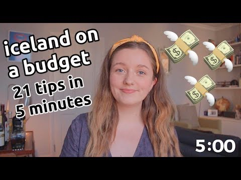 21 cheap iceland tips in 5 minutes | iceland on a budget