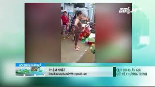 VTC14 | Bình Định: Chợ trũng thấp, tiểu thương đua nhau lấn đường buôn bán