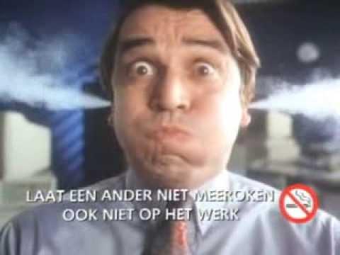 Postbus 51 - Spot (1990) Laat een ander niet meeroken. Ook niet op het werk