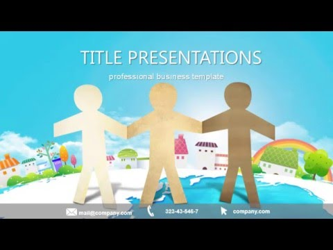 Teamwork Quotes Free PowerPoint Template - Presentation