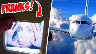 7 FUNNY AIRPLANE PRANKS!