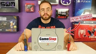 Download GameStop Sent Me A Broken Refurbished PlayStation One...So Let's Fix It! Mp3 and Videos