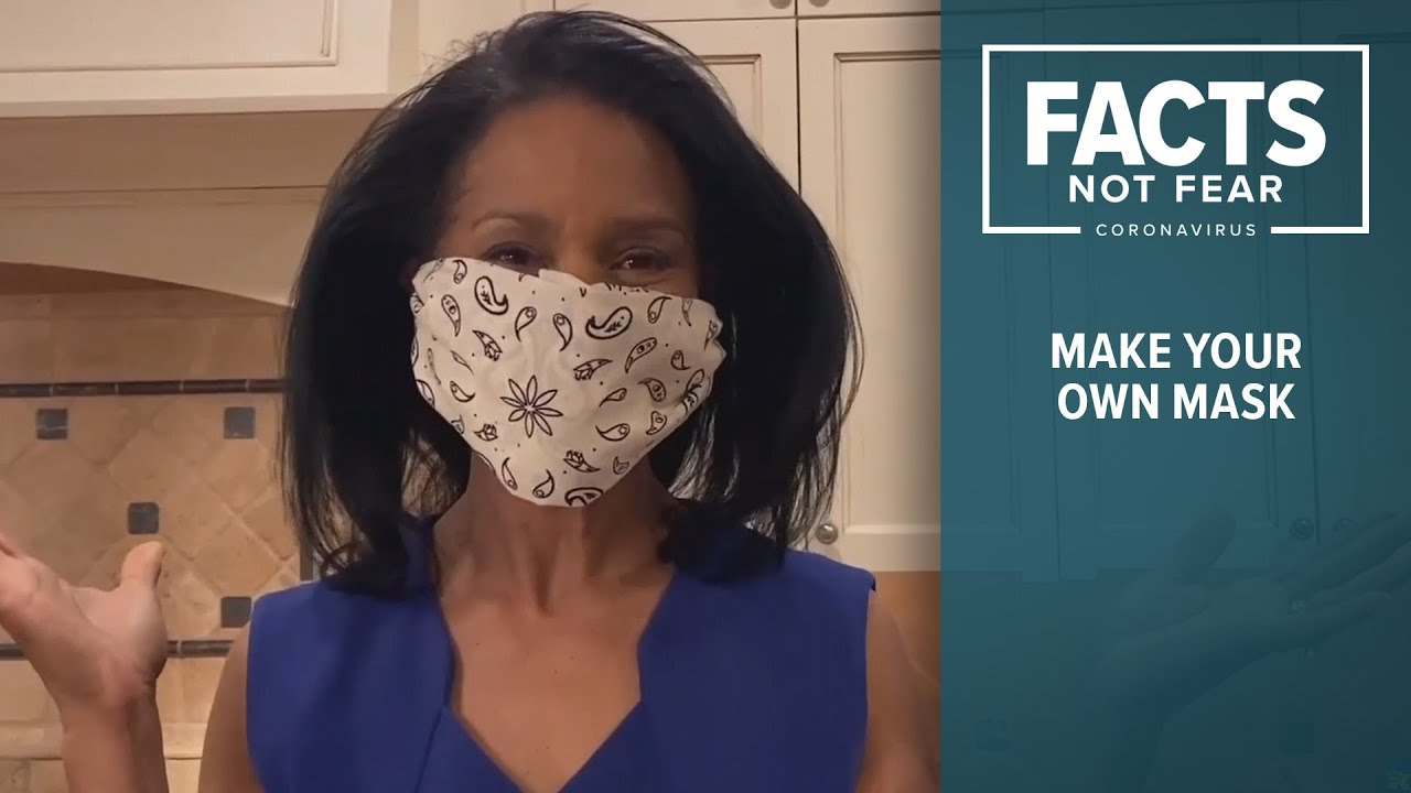 MAKE YOUR OWN MASK: Easy DIY coronavirus hack from KING 5's Joyce Taylor