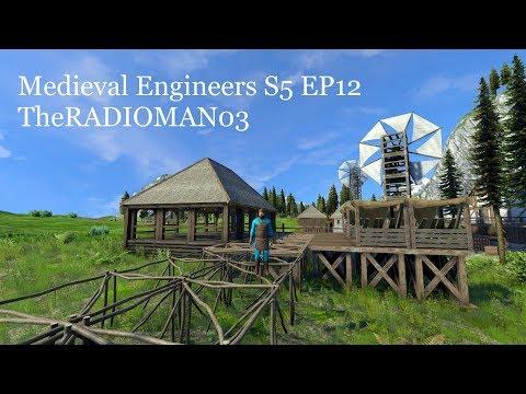"""Medieval Engineers S5 EP12 """"Lumberyard"""""""
